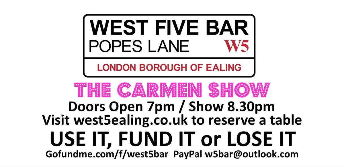 The Carmen Show!  tickets