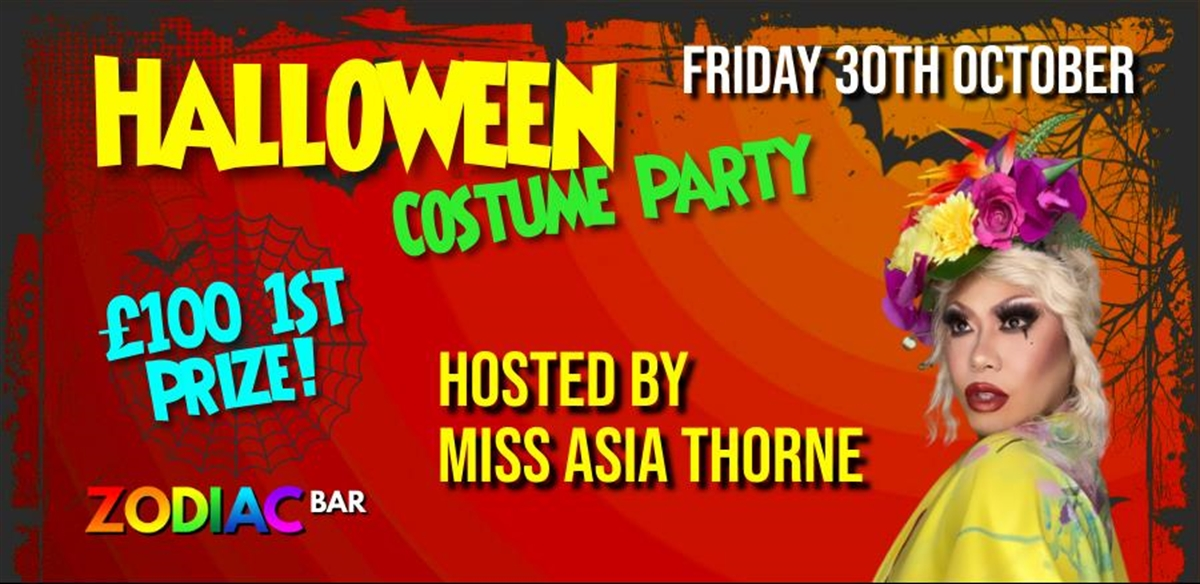 Halloween Costume Party with Miss Asia Thorne tickets
