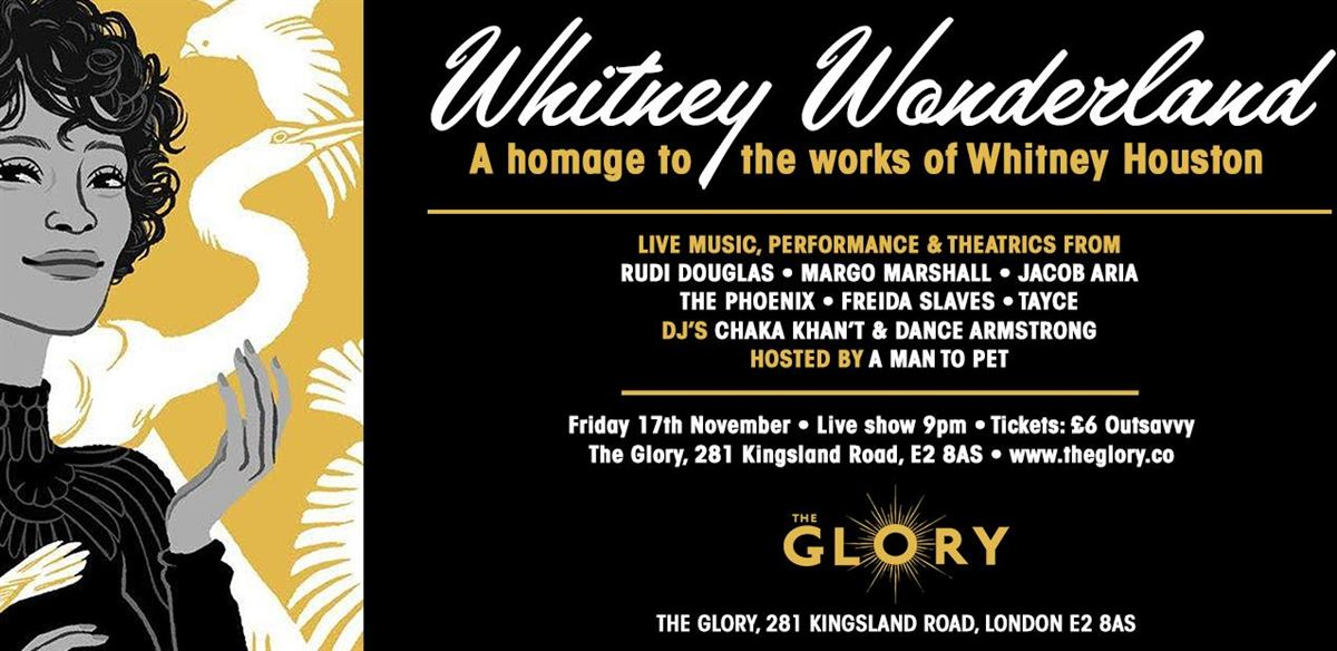 Whitney Wonderland - Homage to music of Whitney Houston tickets