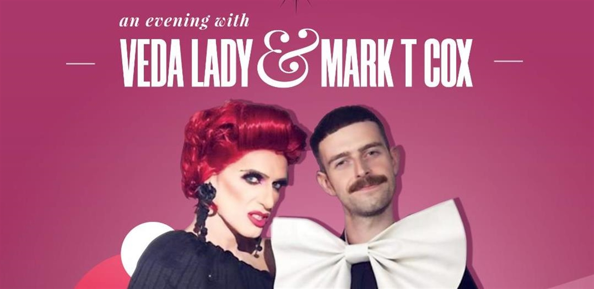 An Evening With Veda Lady and Mark T Cox tickets