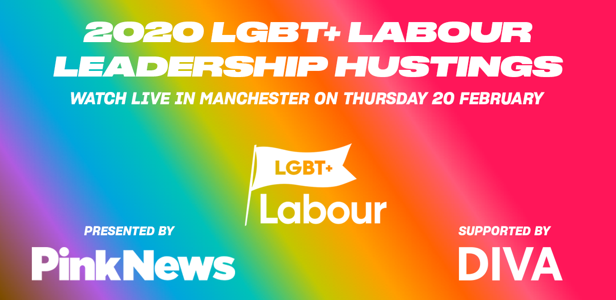 LGBT+ Labour Leadership Hustings  tickets