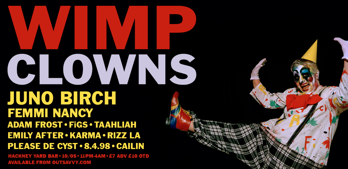 WIMP : CLOWNS tickets