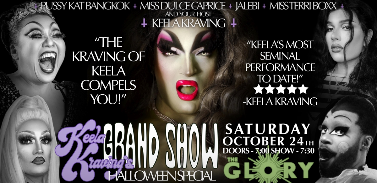 Keela Kraving's Grand Show HALLOWEEN SPECIAL  tickets