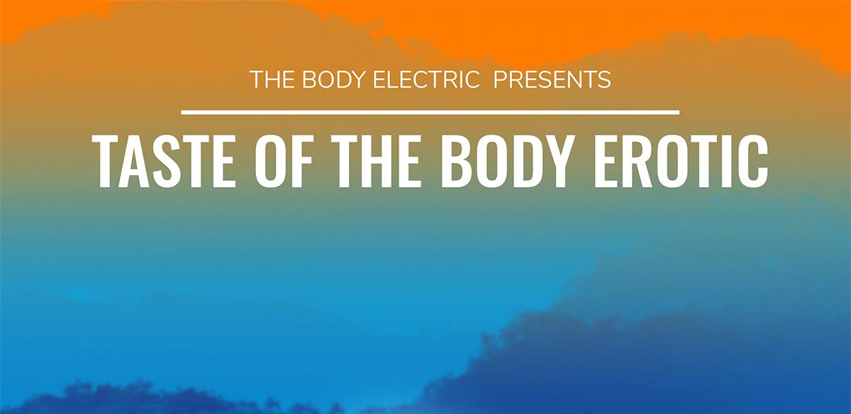 Taste of the Body Erotic tickets