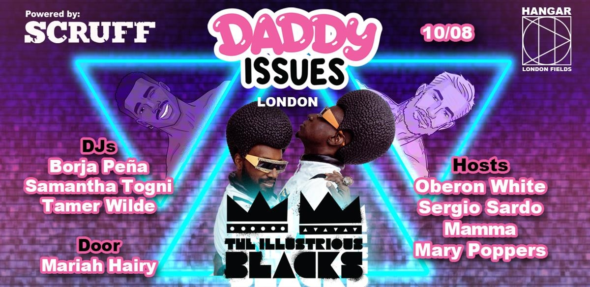 Daddy Issues with The Illustrious Blacks tickets