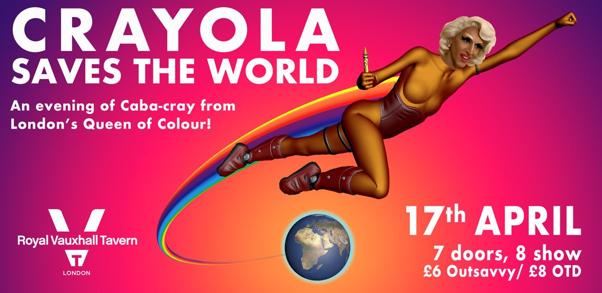 Crayola Saves The World! tickets