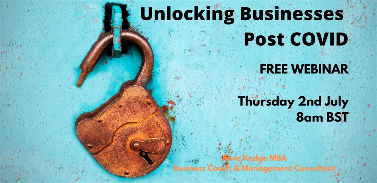 Unlocking businesses and charities post COVID tickets