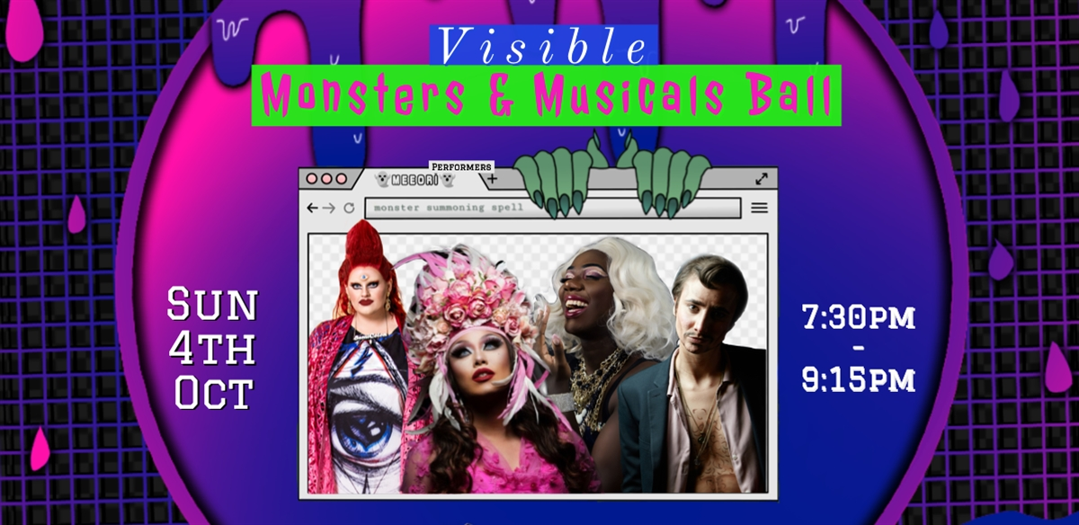 Visible: Monsters & Musicals Ball tickets
