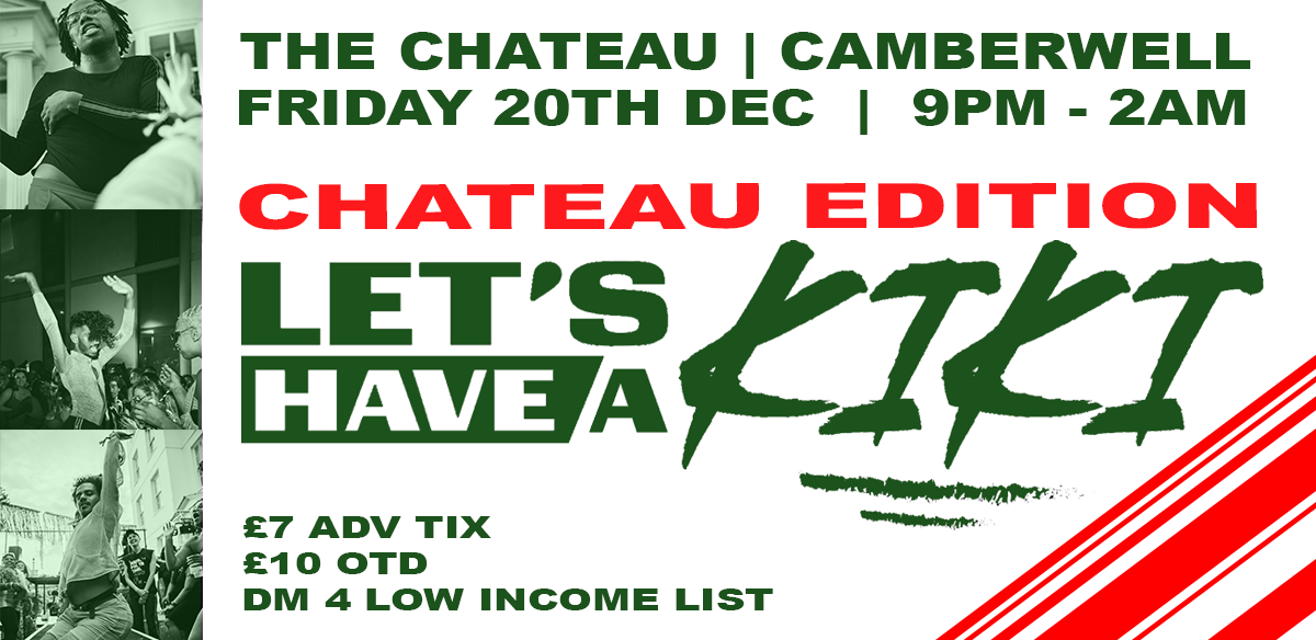 Let's Have A Kiki #TheParty | The Chateau Christmas tickets