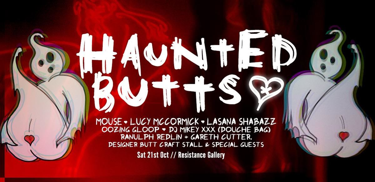 Haunted Butts: Performance + Party! tickets