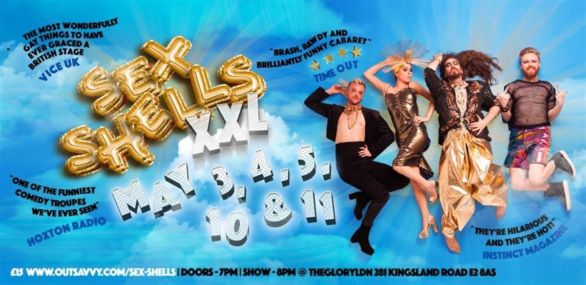 Sex Shells: XXL tickets