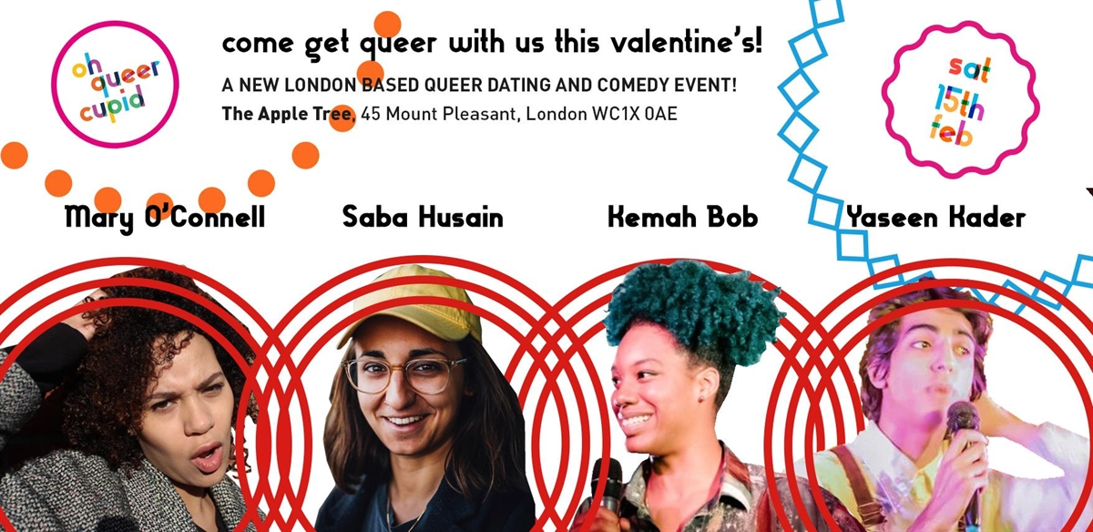 Oh Queer Cupid Valentine's Party! tickets