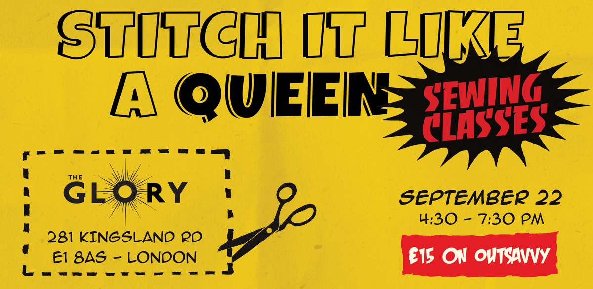 Stitch It Like a Queen Taster Sewing Class for Drag Artists tickets