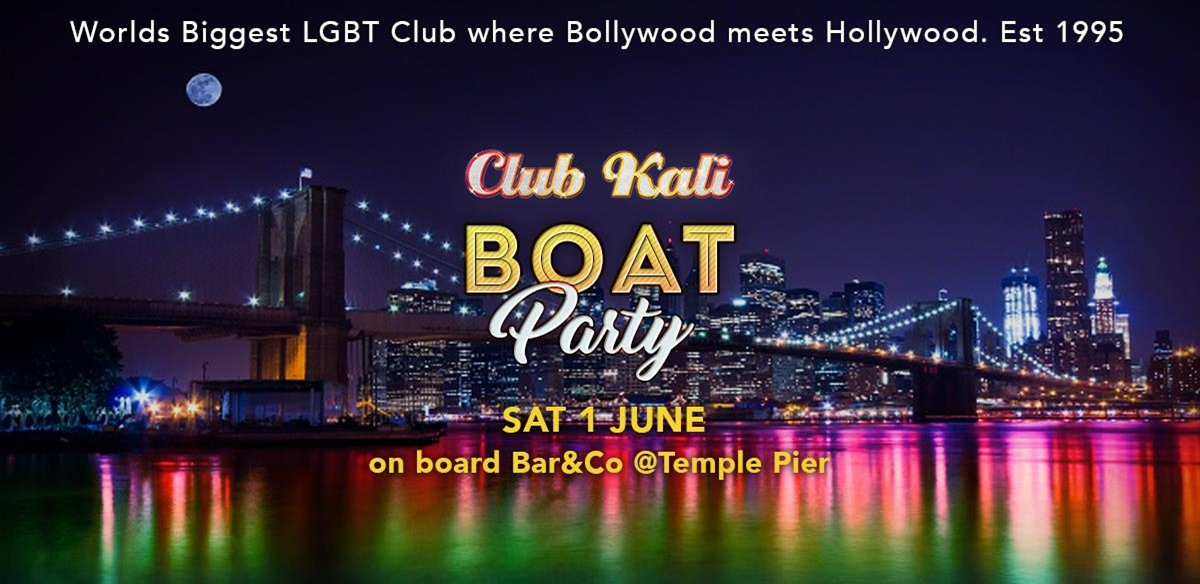 Club Kali BOAT Party!  tickets