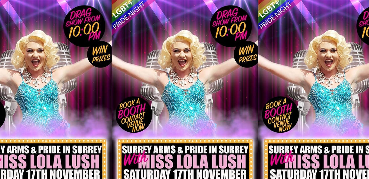 LGBTQ+ Pride Night @ Surrey Arms Camberley tickets