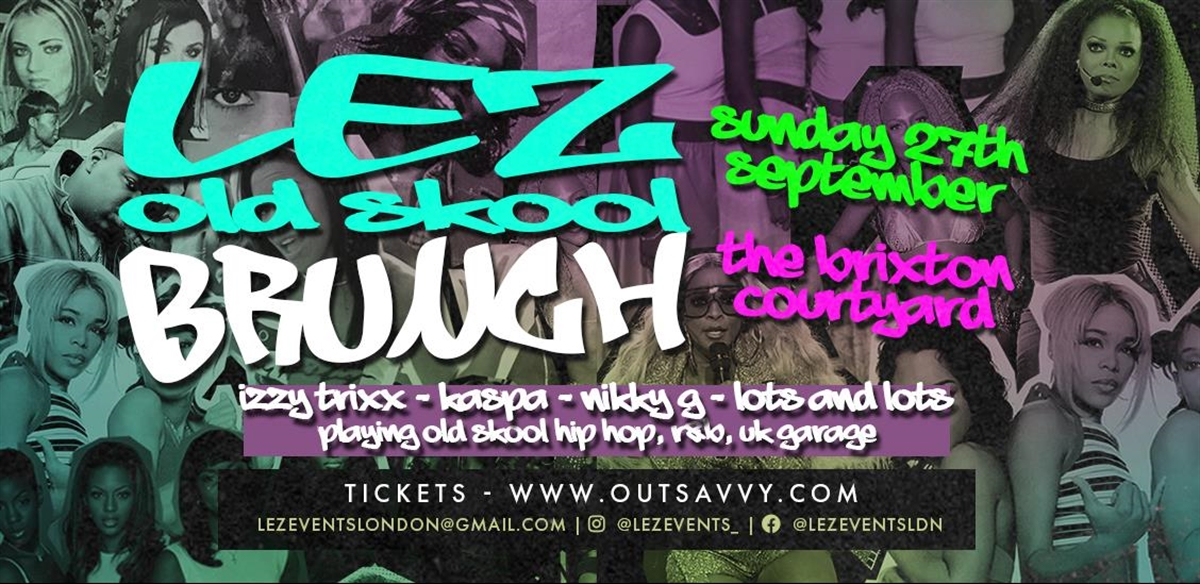 LEZ old skool brunch  tickets