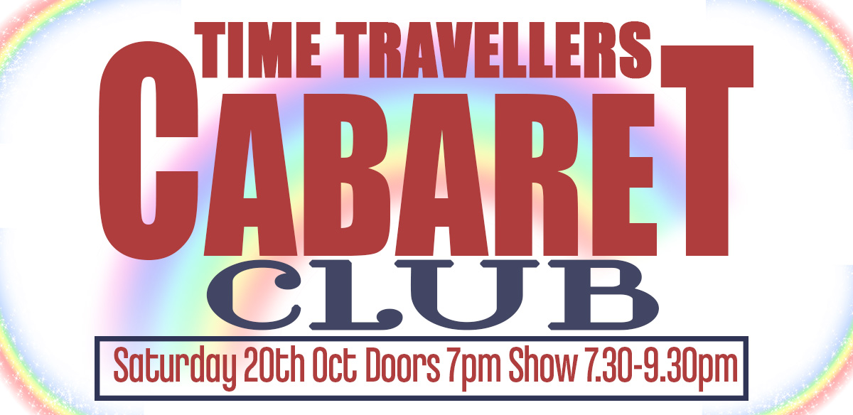 Time Traveler's Cabaret Club at The Glory tickets