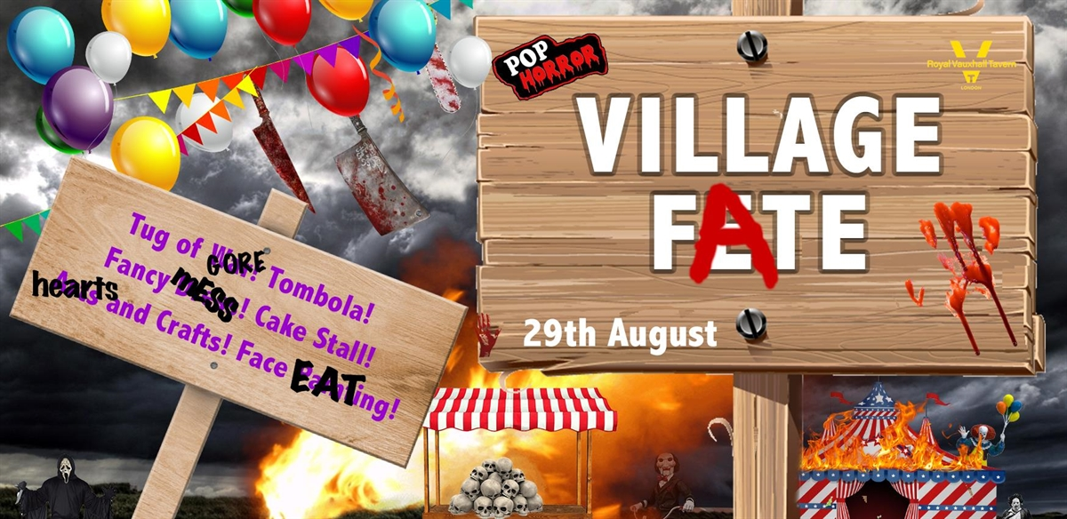 PopHorror's Summer Village Fate tickets