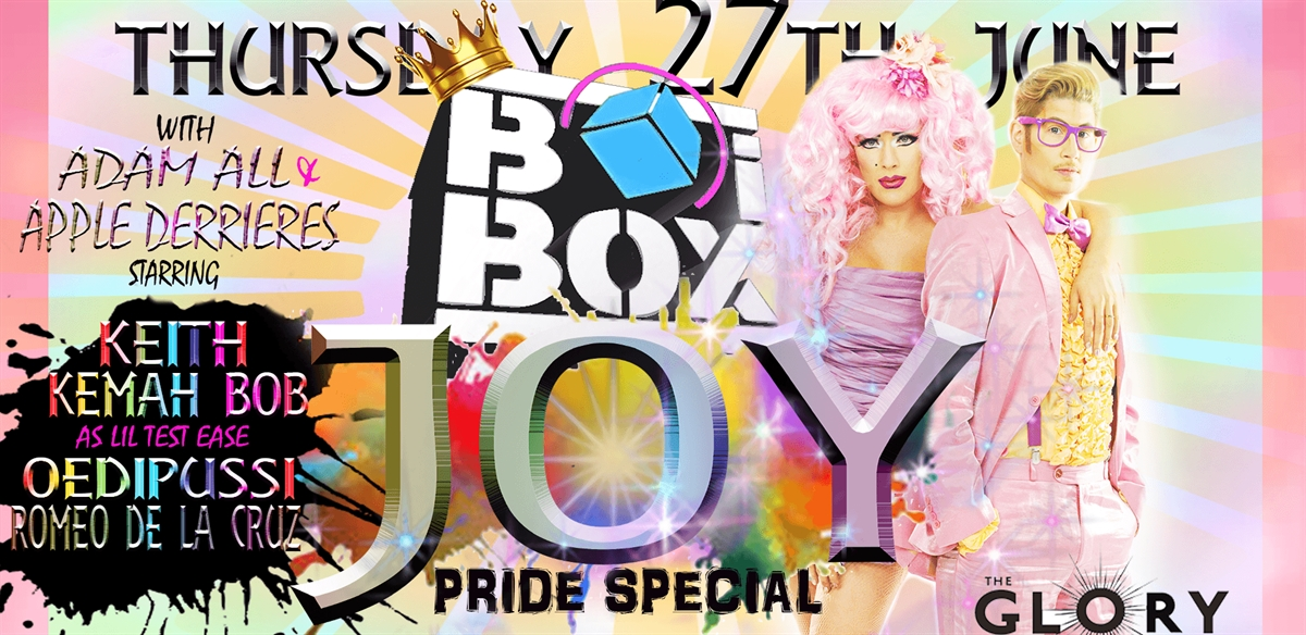 BOiBOX - JOY!  tickets