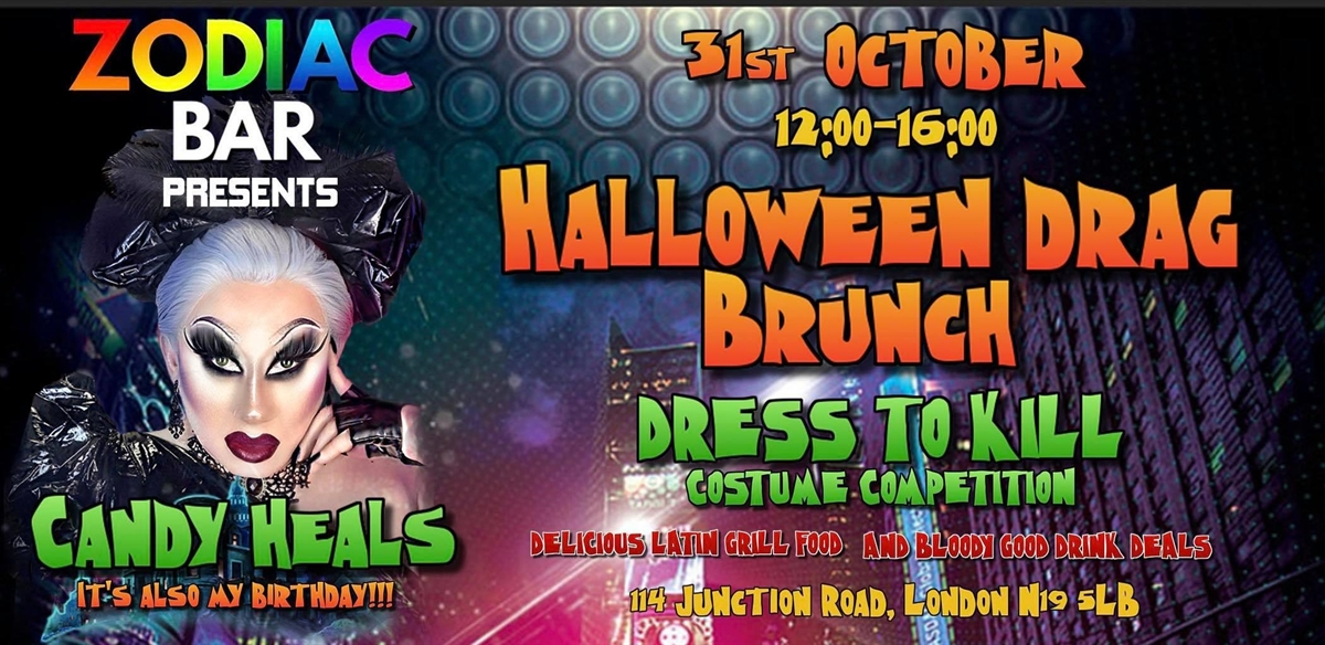 Halloween Drag Brunch with Candy Heals tickets