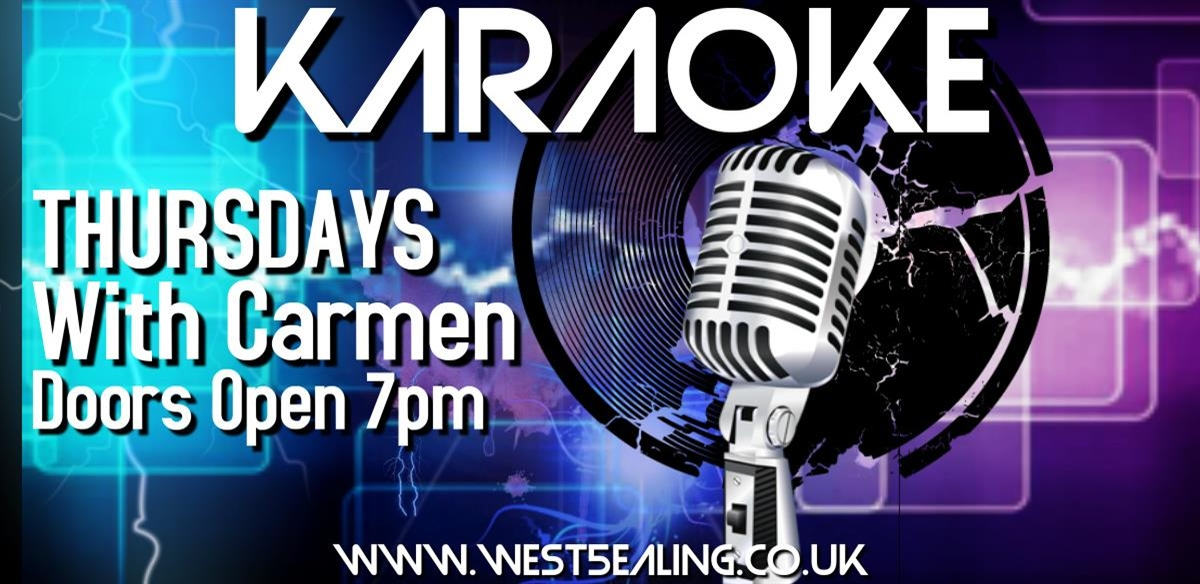 Karaoke with Carmen tickets