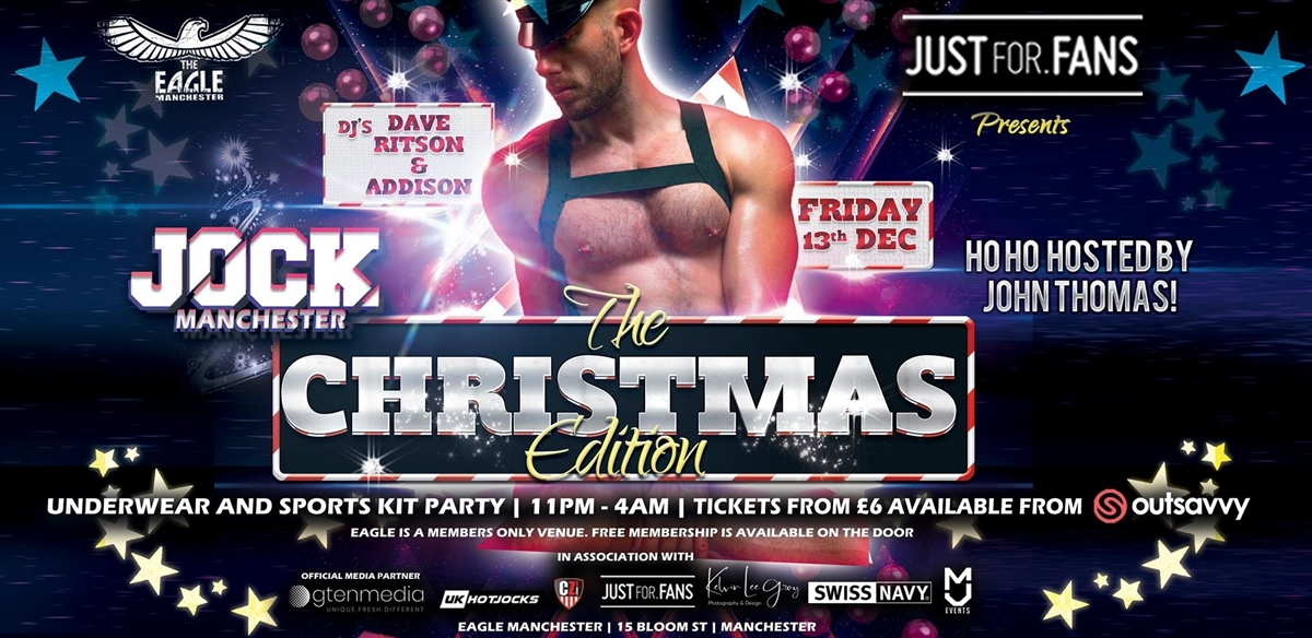 JOCK Manchester - The Christmas Edition with John Thomas tickets