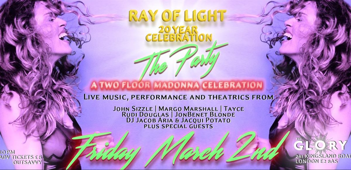 Ray of Light - The Madonna Party!