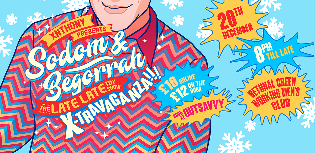 Sodom & Begorrah: The Late Late Toy Show X-Travaganza! tickets