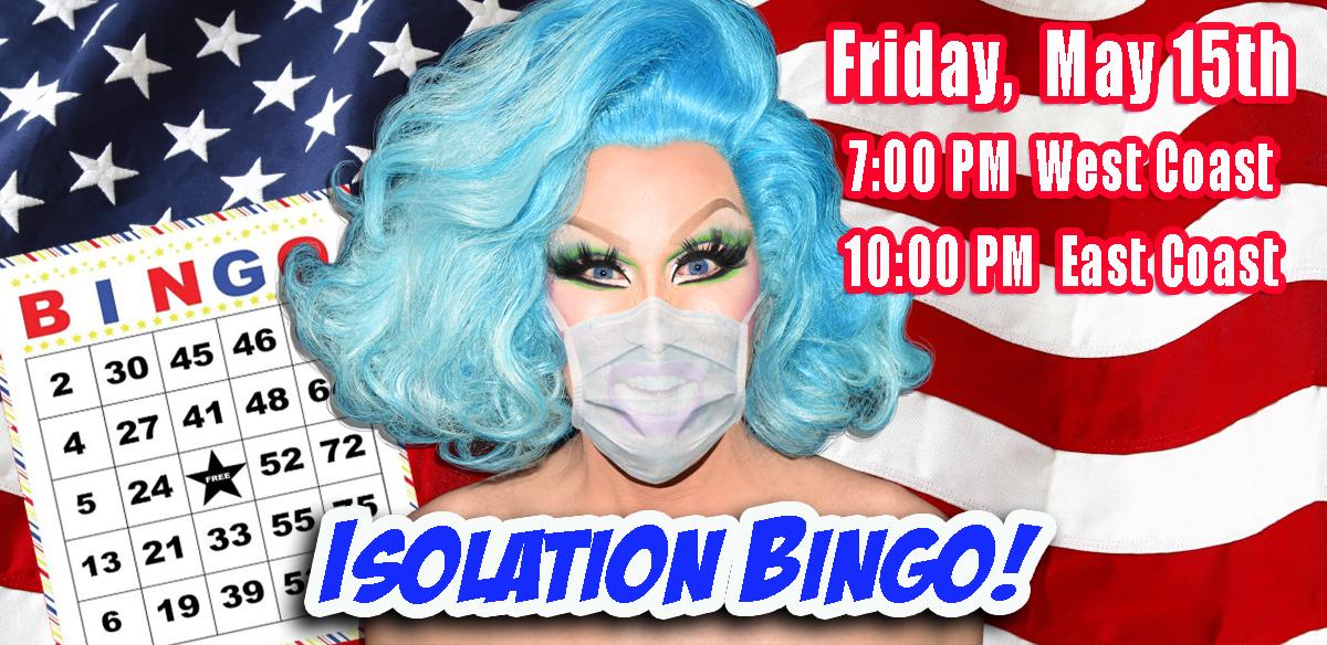 ISOLATION BINGO - USA Edition Late Show tickets