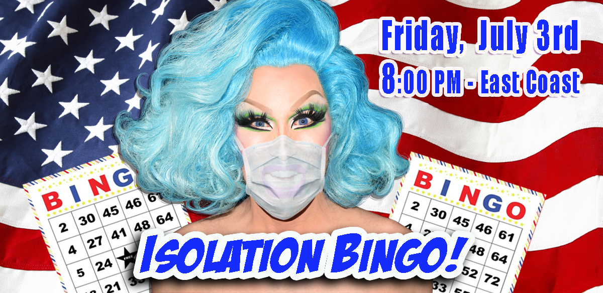 ISOLATION BINGO - USA Edition tickets
