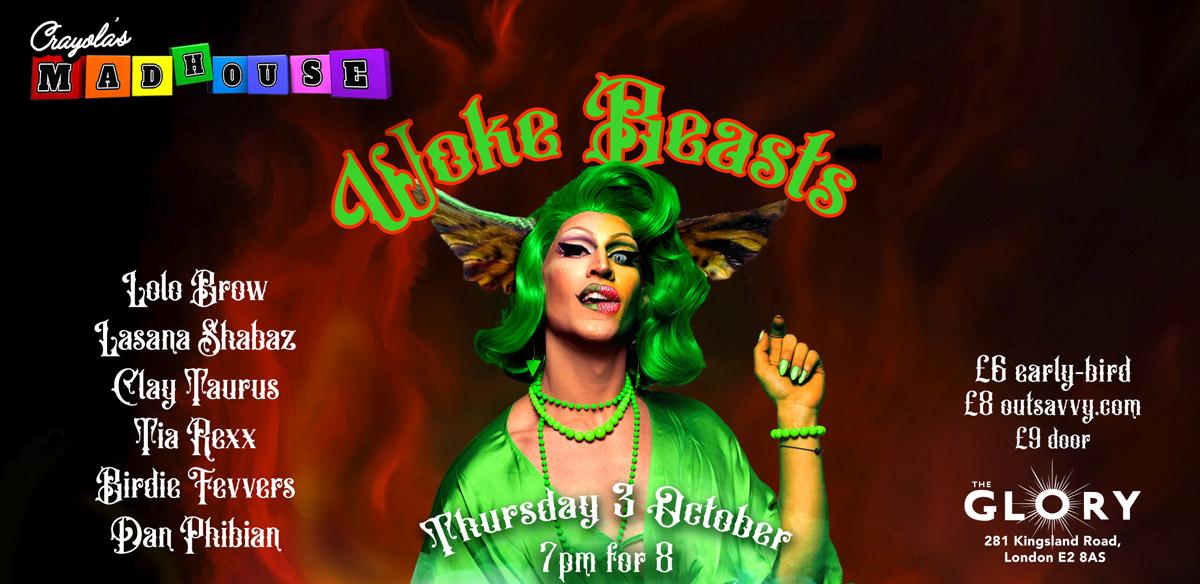 Crayola's Madhouse: Woke Beasts tickets