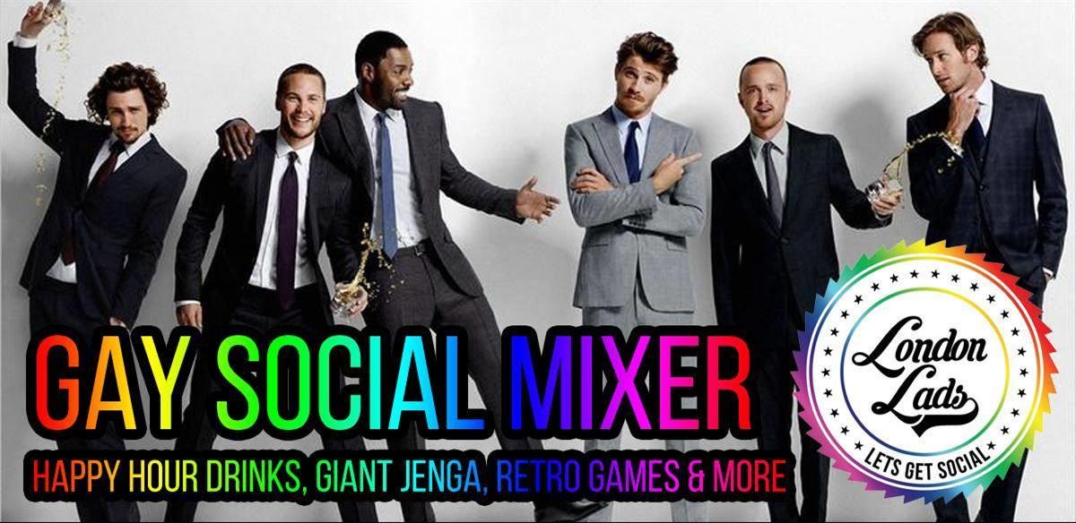Gay social mixer, giant jenga & retro fun night tickets