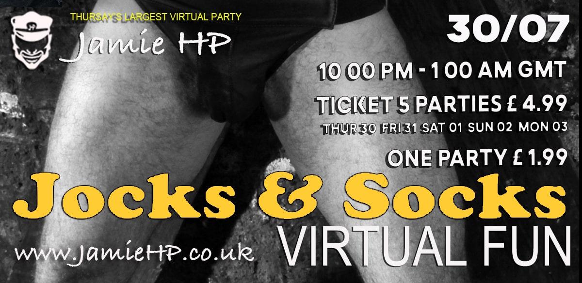 Jocks and Socks Thrusday tickets