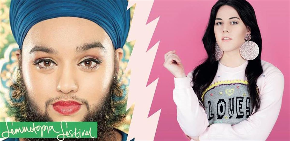 Femmetopia! with Charlie Craggs and Harnaam Kaur  tickets