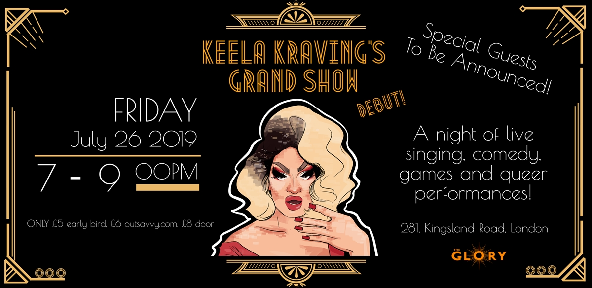 Keela Kraving's Grand Show Debut! tickets