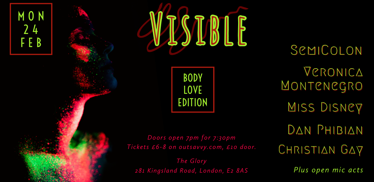Visible : Body Love Edition tickets