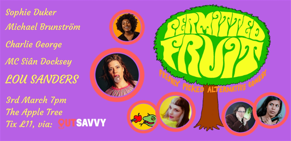 Permitted Fruit: Freshly Picked Alternative Comedy tickets