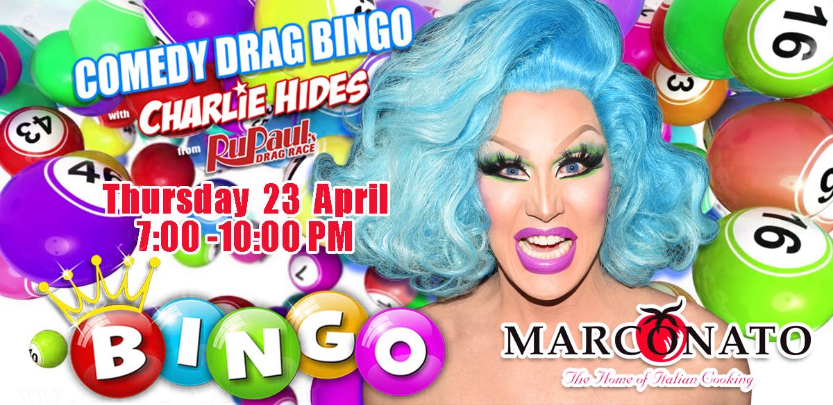 Drag Bingo with Charlie Hides - Hoddesdon tickets