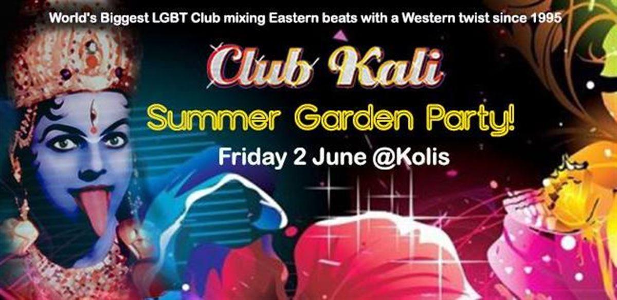 Club Kali's Summer Garden Party tickets