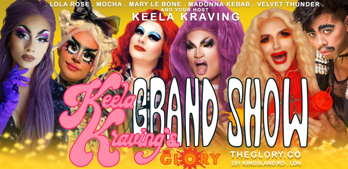 Keela Kraving's Grand Show! tickets