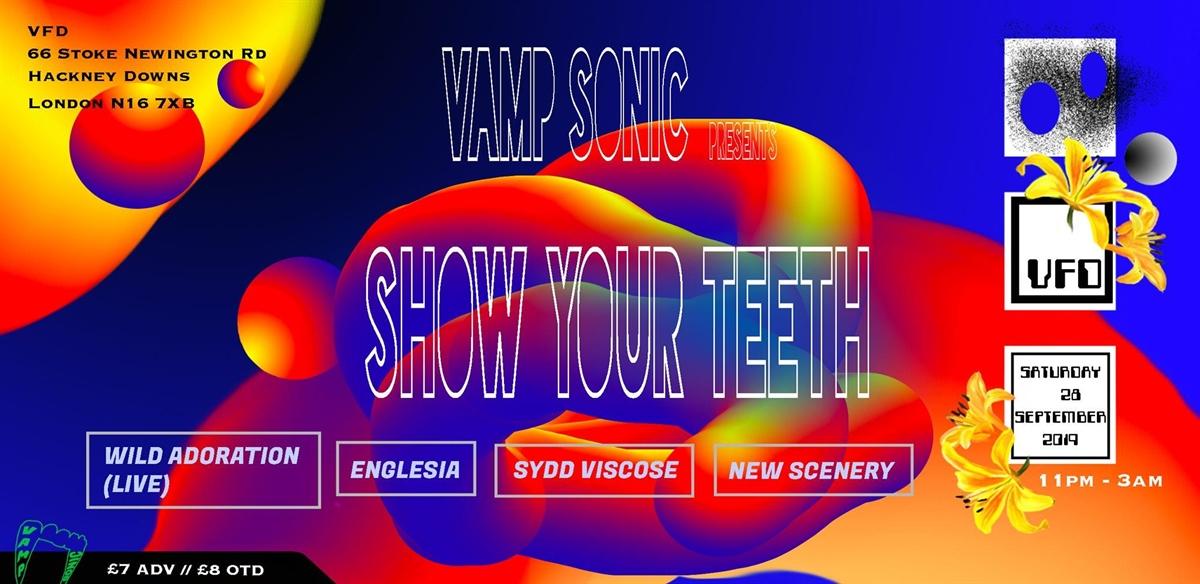 VAMP Sonic {S.Y.T} w/ Englesia, New Scenery, Wild Adoration tickets
