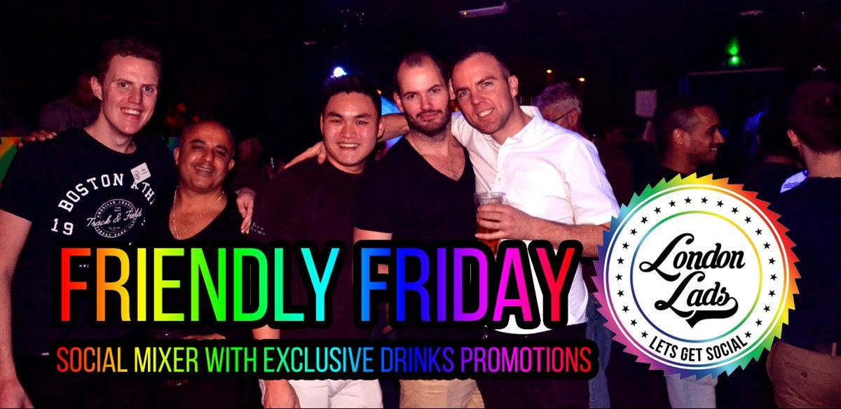 Friendly Friday: Social mixer and drinks tickets