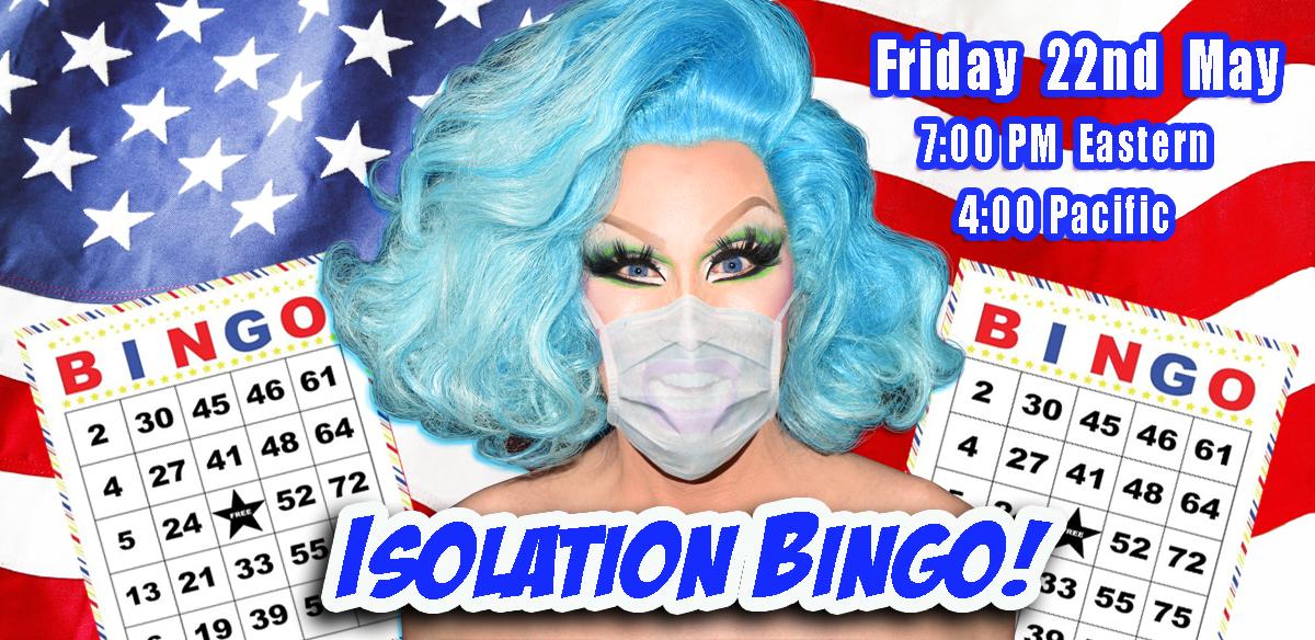ISOLATION BINGO - USA EARLY Edition tickets