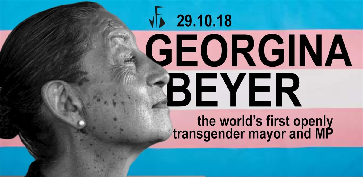 Meet Georgina Beyer// Worlds First Trans Mayor and MP tickets