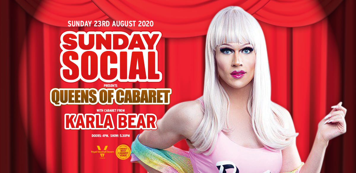 Sunday Social with Karla Bear tickets