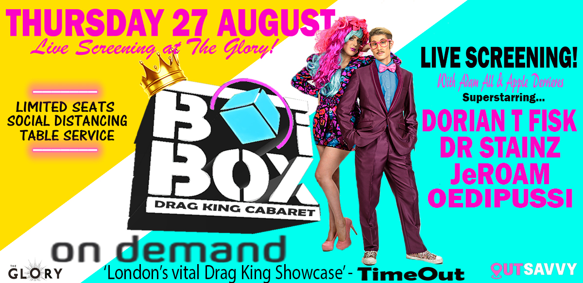 BOiBOX ON DEMAND! - VIEWING PARTY AT THE GLORY!  tickets