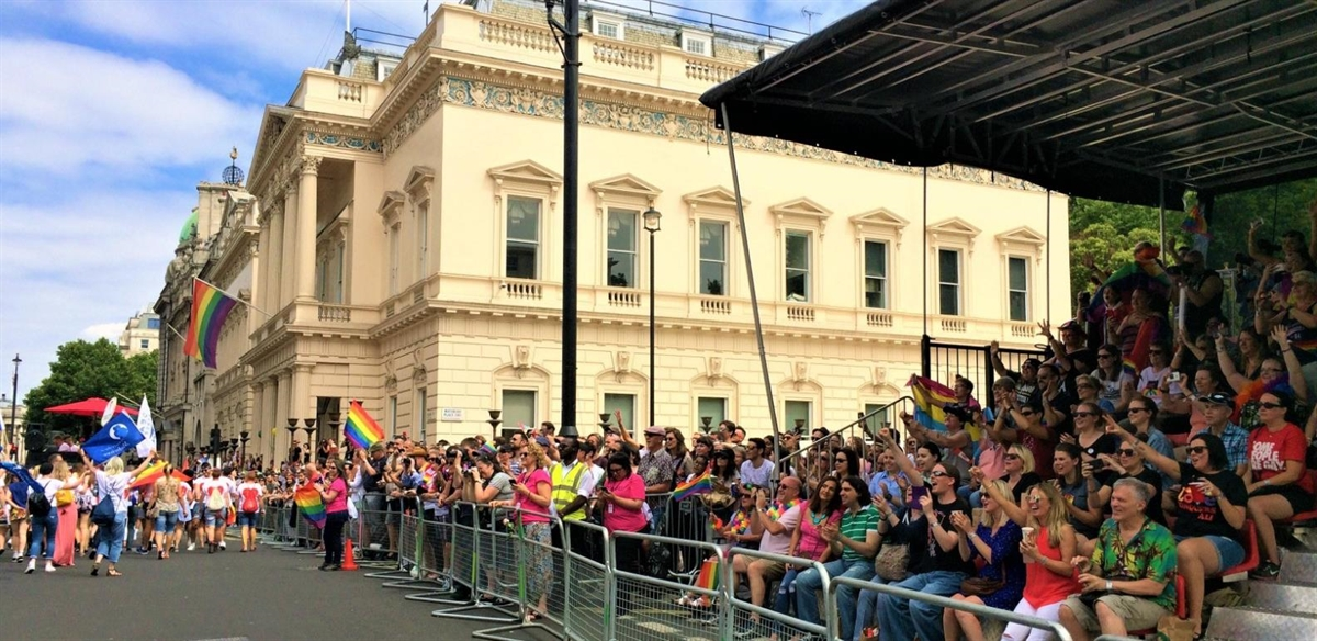 Pride in London Jubilee 2019 Parade Grandstand  tickets
