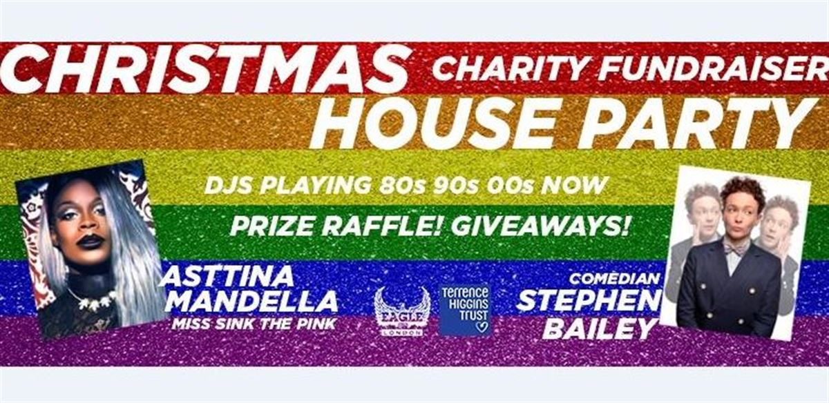 Christmas House Party in aid of Terrence Higgins Trust