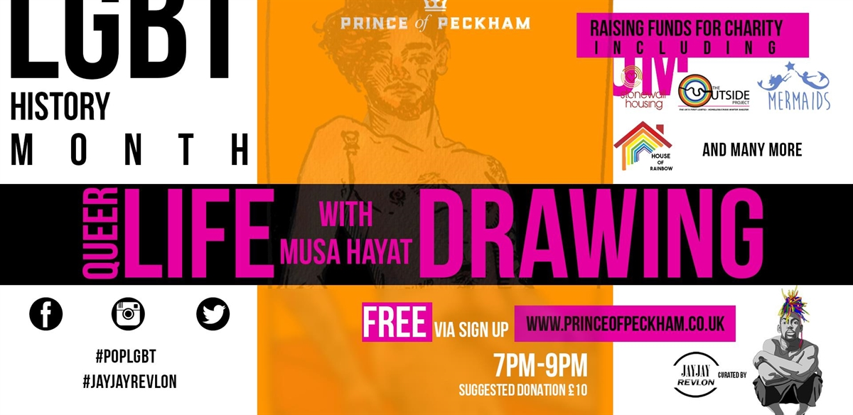 Queer Life Drawing  tickets