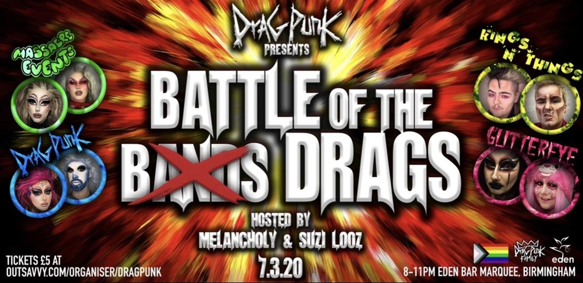Dragpunk Presents Battle Of The Drags tickets